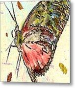 Cloud Butterfly Metal Print by Jill Balsam