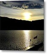 Cloud Chasing - Skaha Lake 4-2-2014  Metal Print