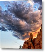 Cloud Explosion Metal Print