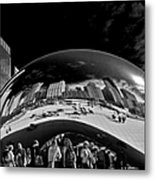 Cloud Gate Chicago - The Bean Metal Print by Christine Till