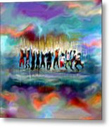 Cloud Nine Metal Print