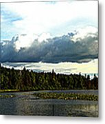 Cloud Over Lake Tomiko Metal Print by Dianne  Lacourciere