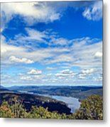Cloud Pockets Metal Print