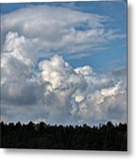 cloud scape sep 2014- Blue sky and clouds  Metal Print