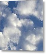 Cloud Series 4 Metal Print