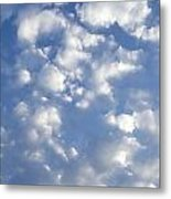 Cloud Series 7 Metal Print