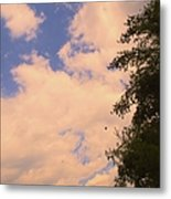 Cloud Slide Metal Print