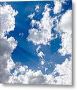 Cloud Study 3852 Metal Print
