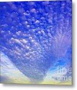 Cloud Tails At Sunrise Metal Print