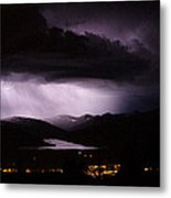 Cloud To Cloud Metal Print