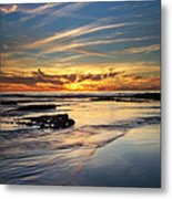 Cloud Trails Metal Print