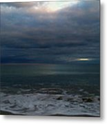 Clouded Window Metal Print by Amanda Holmes Tzafrir