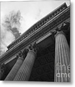 Clouds Above St Pauls Cathedral Metal Print