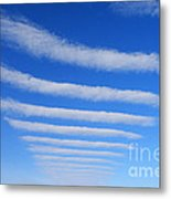 Clouds. Metal Print