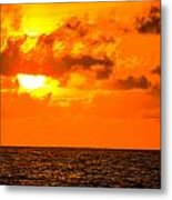 Clouds And Sun Play  Metal Print