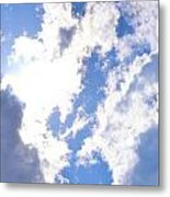 Clouds And Sunshine Metal Print