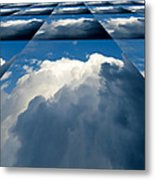 Clouds Ascending Metal Print