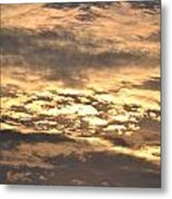 Clouds At Sunset Metal Print