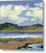 Clouds At Vashon Island Metal Print