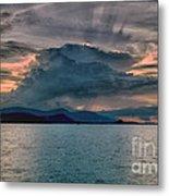 Clouds Explosion Metal Print