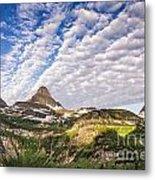 Clouds In Glacier Metal Print
