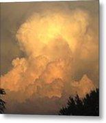 Clouds In The Evening II Metal Print
