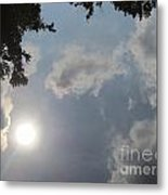 Clouds In The River Metal Print