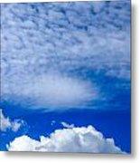 Layers Of Clouds Metal Print