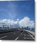 Clouds Of A City Metal Print