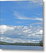 Clouds Over Algoma Metal Print