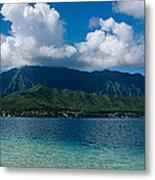 Clouds Over An Island, Hana, Maui Metal Print