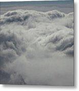 Clouds Over California Metal Print