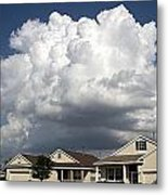 Clouds Over Clermont Metal Print