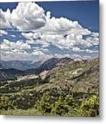 Clouds Over Crested Butte Metal Print