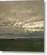 Clouds Over Illinois Metal Print