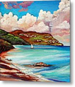 Clouds Over Paradise Metal Print