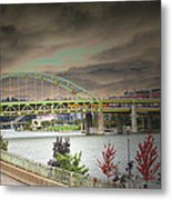 Clouds Over Pittsburgh Metal Print