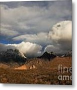 Clouds Over The Organ Mountains Metal Print