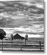 Clouds Over The Upper Midwest Metal Print