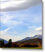 Clouds Over Timp Metal Print
