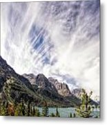 Clouds Over Wild Goose Island Metal Print
