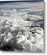Clouds Over Wyoming Metal Print