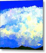 Clouds Overhead Metal Print