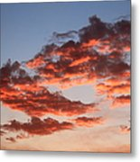 Clouds Shining Metal Print