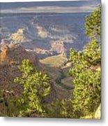 Cloudy Bright Angel Trail II Metal Print