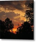 Cloudy Dawn Metal Print