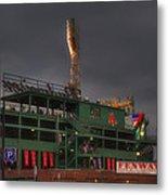 Cloudy Fenway Park - Boston Metal Print