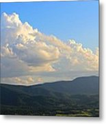 Cloudy View Metal Print by Candice Trimble