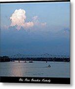 Clover Cary Bridge 2 Metal Print by David Lester
