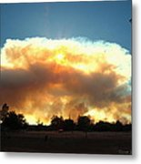 Clover Fire At 5 25 Pm Metal Print